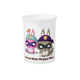 Mother s Day Cute Cartoon Funny Gift Pitcher