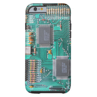 Motherboard circuit board photo iPhone 6 case