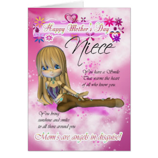 Mother's Day Card, Moonies Cutie Pie collection Greeting Card