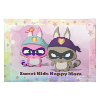 Mother's Day Cute Cartoon Placemats Funny Gift