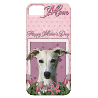 Mothers Day - Pink Tulips - Whippet iPhone 5 Cases