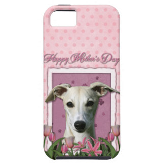 Mothers Day - Pink Tulips - Whippet iPhone 5 Covers
