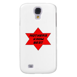 Mothers Know Best Red The MUSEUM Zazzle Gifts Galaxy S4 Covers