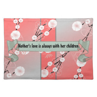 Mother's love placemat