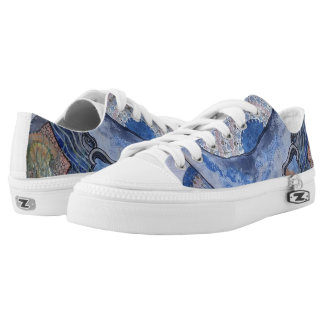 Mothersday whale low tops