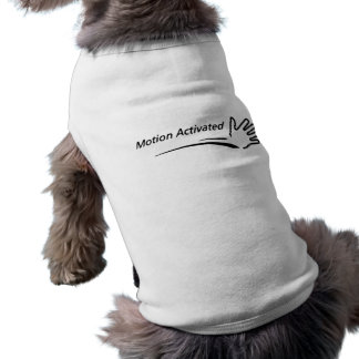 Motion Activated Pet Shirt