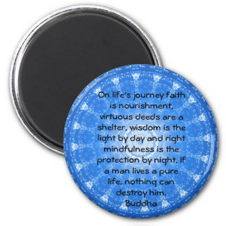 Motivational Inspirational Buddha Quote Magnet