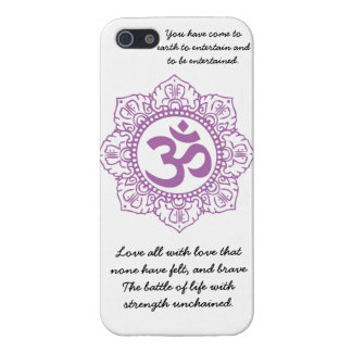 motivational om iPhone 5 cover