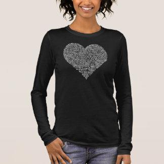 Motivational Words Heart Chiropractic Shirt