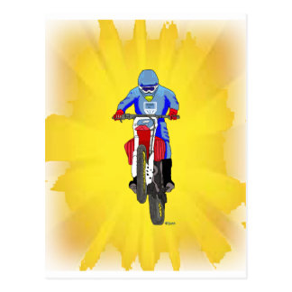 Motocross 103 postcard