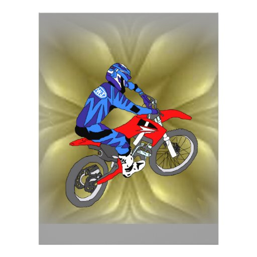 Motocross 202 personalized flyer