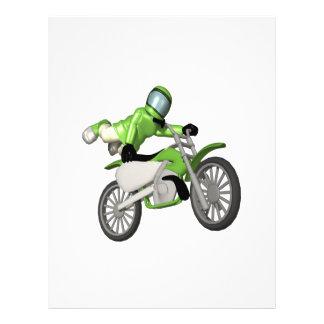 Motocross 3 personalized flyer