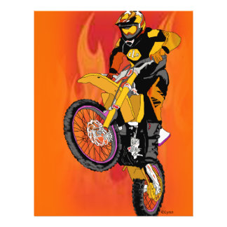 Motocross 403 custom flyer