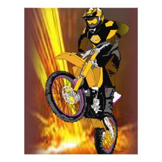 Motocross 404 21.5 cm x 28 cm flyer