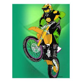 Motocross 406 flyer design
