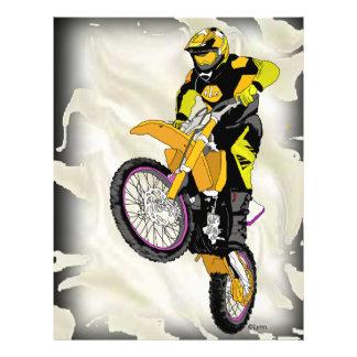Motocross 409 custom flyer