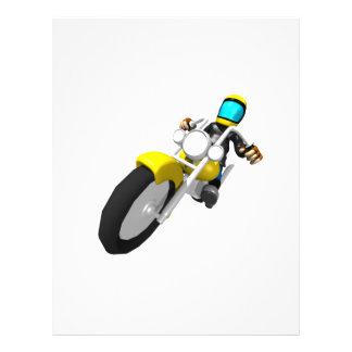 Motocross Biker Personalized Flyer