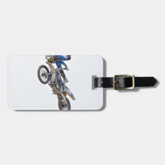 Motocross Extreme Tricks Luggage Tag