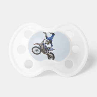 Motocross Flying High Baby Pacifiers