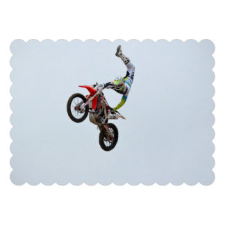 Motocross Freestyle Personalized Invitation