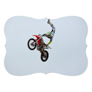 Motocross Freestyle Personalized Announcements