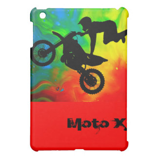 Motocrossing in a Solar Flare Up iPad Mini Covers