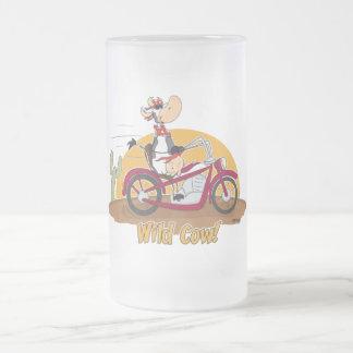 "Motorbike ""Wild Cow"" Coffee Mug"