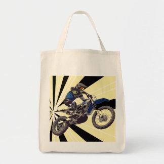 Motorcross Rider Tote Bag