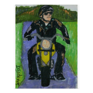 motorcycle 21.5 cm x 28 cm flyer