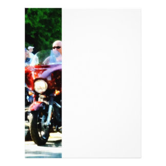 Motorcycle Club 21.5 Cm X 28 Cm Flyer