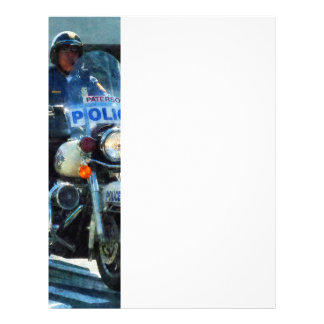 Motorcycle Cop 21.5 Cm X 28 Cm Flyer