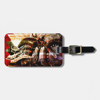 Motorcycle Mania Luggage Tag