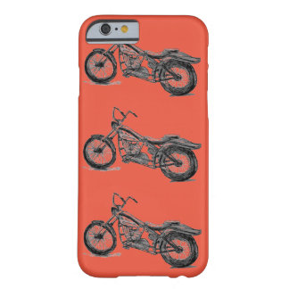 Motorcycle Mania on iPhone 6 Barely There Case