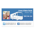 Motorhome RV Couple Cards Business Card Template
