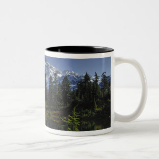 Mount Baker-Snoqualmie National Forest Two-Tone Coffee Mug