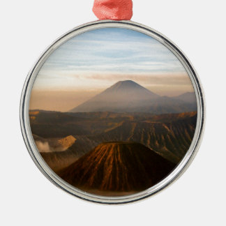 Mount Bromo Christmas Ornament