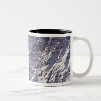Mount Chepren, Banff National Park, Alberta, Two-Tone Coffee Mug