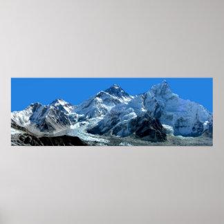Mount Everest Poster