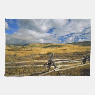 Mount Haggin NWR near Anaconda Montana Tea Towel