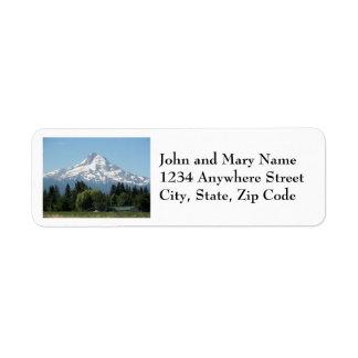 Mount Hood Return Address Labels