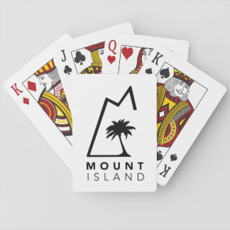 Mount Island Playing Cards