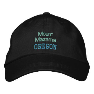 MOUNT MAZAMA cap Embroidered Cap