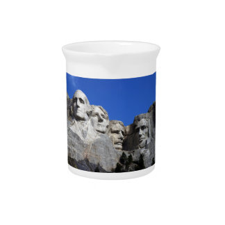 Mount Rushmore National Memorial Monument Pitchers