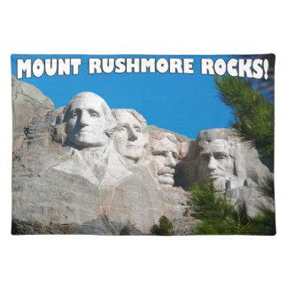 Mount Rushmore Rocks! Mount Rushmore, South Dakota Placemat