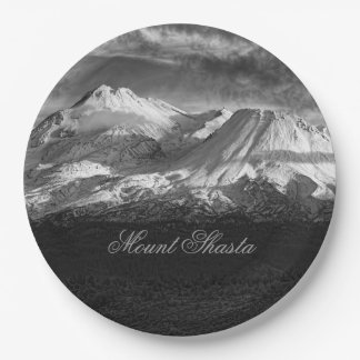 MOUNT SHASTA 9 INCH PAPER PLATE