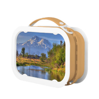MOUNT SHASTA AND THE SHASTA RIVER LUNCH BOXES