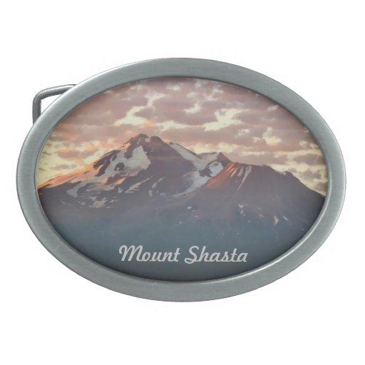 MOUNT SHASTA BELT BUCKLE