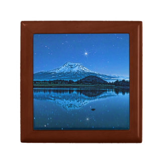 MOUNT SHASTA BY STARLIGHT SMALL SQUARE GIFT BOX
