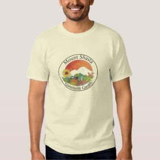 Mount Shasta Community Garden T Shirts