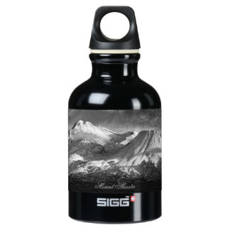 MOUNT SHASTA IN BLACK AND WHITE SIGG TRAVELLER 0.3L WATER BOTTLE